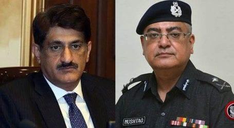 New IGP Sindh calls on CM Murad Ali Shah