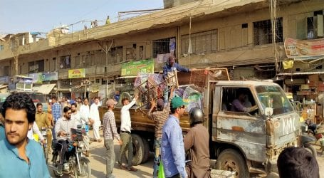 KMC starts anti-encroachment operation in district west