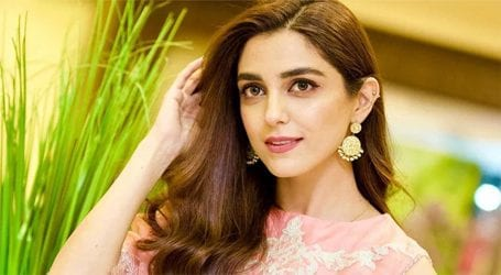 Actress Maya Ali trying colour therapy in COVID-19 lockdown