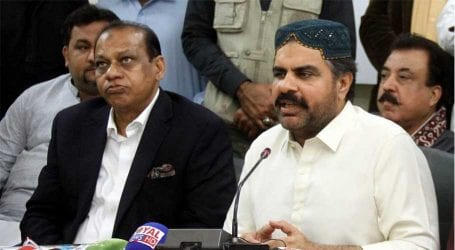 Federal govt should give financial aid to traders: Nasir Shah