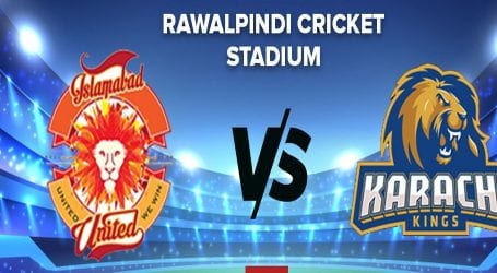 PSL-5: Karachi Kings will play against Islamabad United today