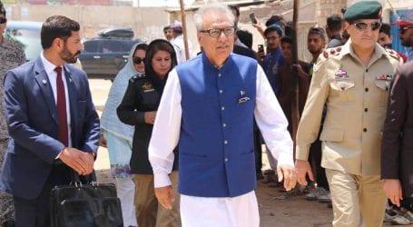 President Alvi reviews precautionary steps in Rawalpindi mosques