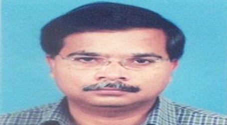 Dr Arif Zubair condoles demise of senior teacher Farukh Usman