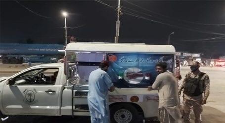 Rangers initiate coronavirus awareness campaign in Sindh