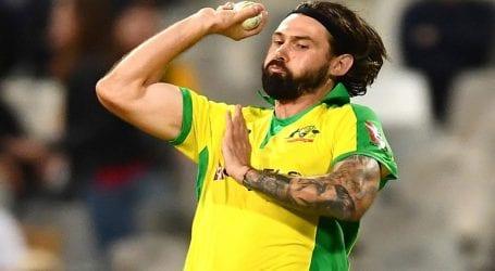Australian bowler Kane Richardson quarantined for COVID-19