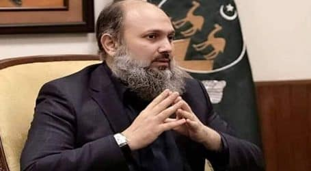 Balochistan CM Jam Kamal Khan tests positive for COVID-19