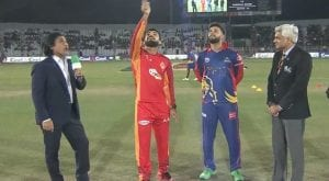 PSL 5: Karachi Kings wins toss opt to bat against Islamabad United