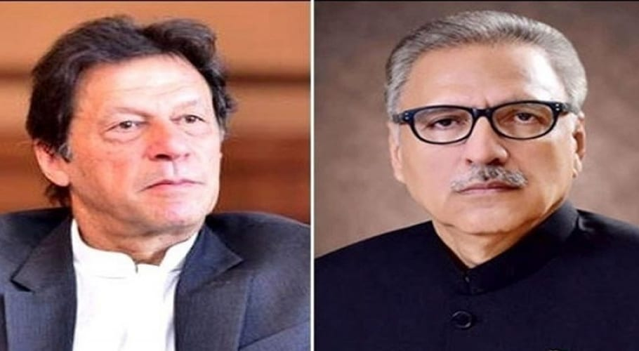 President Dr Arif Alvi and Prime Minister Imran Khan issued separate messages on the occasion of Eid-ul-Azha. Source: FILE.