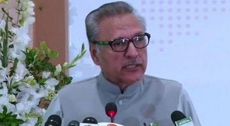President Alvi urges nation to follow safety precautions ahead of Eid