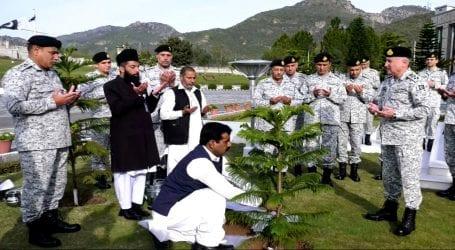 Navel Chief inaugurates spring tree plantation campaign