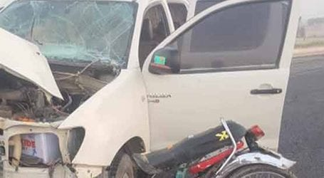 Man killed, other injured in road accident