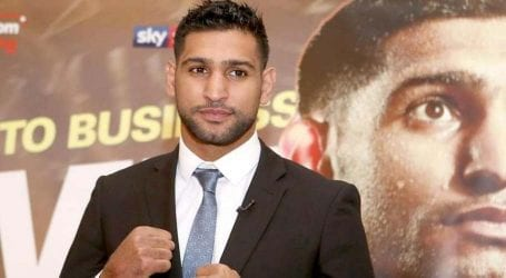 Boxer Amir Khan appeals to celebrate Independence Day cautiously