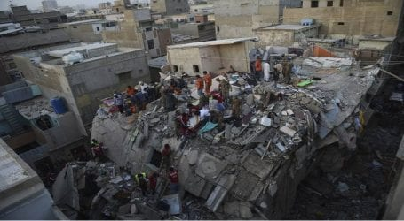 Death toll in Karachi building collapse jumps to 23