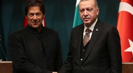 PM Imran, Erdogan vow to jointly address COVID-19 pandemic