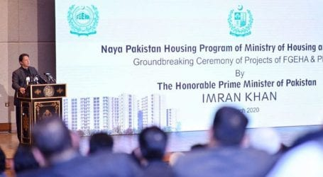 PM performs ground breaking of seven housing projects