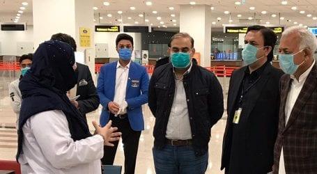 Ghulam Sarwar Khan pays surprise visit to Islamabad Airport