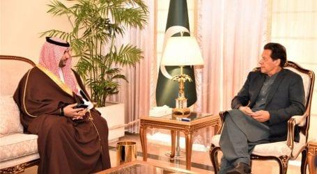 Saudi Deputy Defence Minister meets PM Imran Khan
