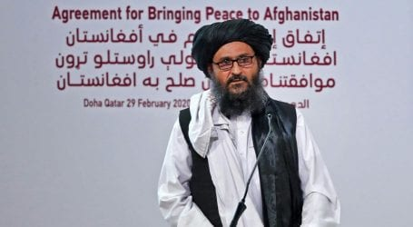 Trump holds phone call with Taliban political chief Baradar