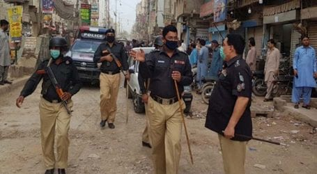 Sindh police arrest 138 people for violating lockdown orders