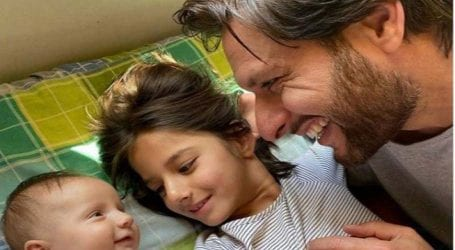 Blessed to be surrounded by 'my angels': Shahid Afridi