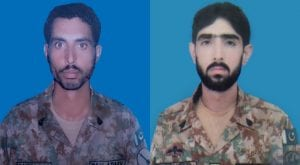 Two soldiers martyred, 9 terrorists killed in North Waziristan: ISPR