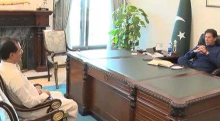 Haleem Adil Sheikh calls on PM Imran Khan