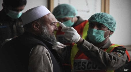 Coronavirus cases in Pakistan rise to 4,062