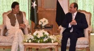 Coronavirus: PM Imran Khan telephones Egyptian President