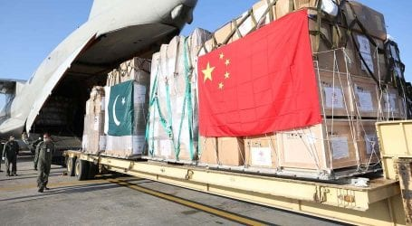 Another batch of medical supplies from China arrives in Pakistan