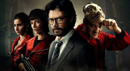 Netflix drops season four of hit series 'Money Heist'