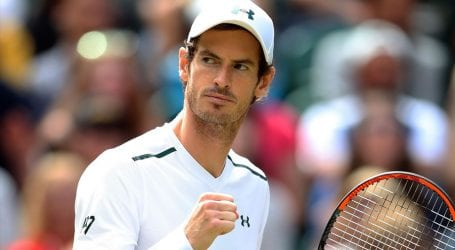 Tennis will be one of the last sports back in action: Murray