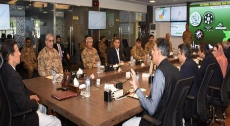 PM Khan, Gen Bajwa briefed on COVID-19 response at NCOC