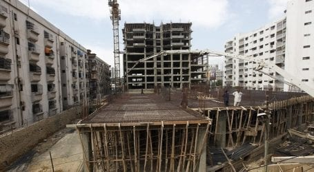 Illegal construction continues on govt land in Karachi