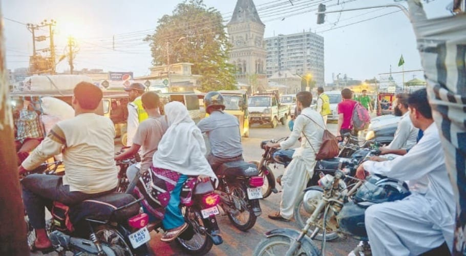 Complete ban on pillion riding across Sindh