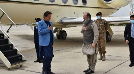 PM Imran Khan briefed on coronavirus situation in Balochistan