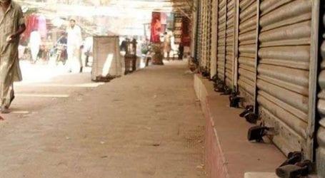Major markets, shopping centres sealed in Karachi over violation SOPs