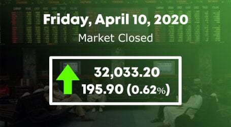 Stock market continues postive trend, regains 32,000 points level