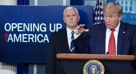 Trump announces gradual US reopening to end coronavirus shutdown
