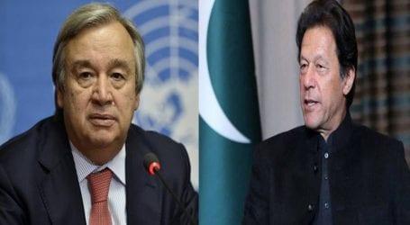 UN Secretary-General backs PM Imran's call for virus debt relief