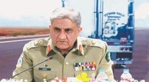 Chief of Army Staff General Qamar Javed Bajwa. Source: FILE