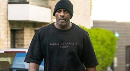 Idris Elba spotted for first time in London after recovering from COVID-19