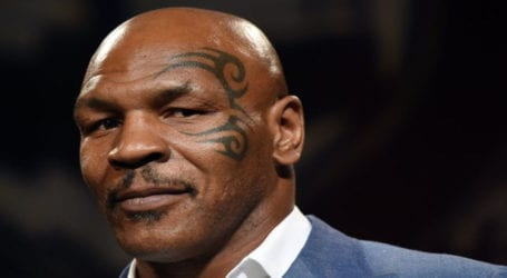 Former boxer Mike Tyson announces ring return for charity
