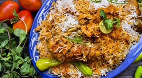 Biryani – a national dish of Karachi
