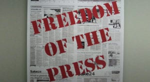 Remembering murdered journalists on World Press Freedom Day