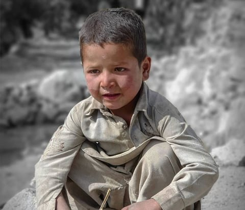 Face of machlu valley – Khaplu – GB