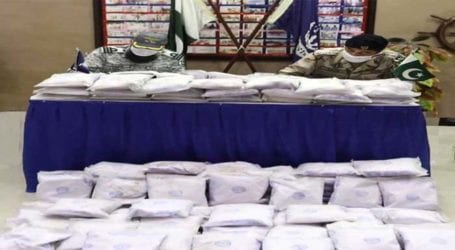 Pakistan Navy, ANF jointly seize 100kg of drug in operations