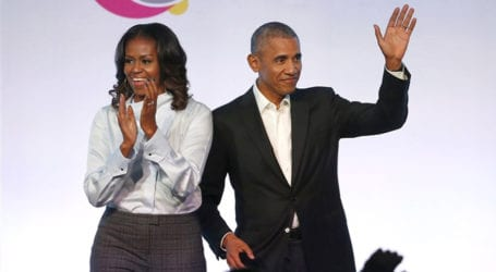 Barack Obama will be first guest on Michelle's new podcast