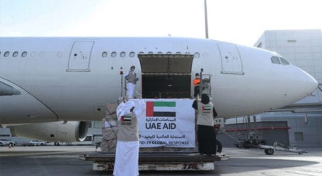 UAE operates first flight to Israel with COVID-19 aid for Palestinians