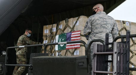 Pakistan sends medical supplies to US in war against COVID-19