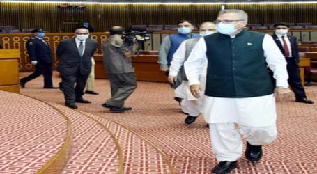 President Alvi urges nation to remember deprived segments of society on Eid